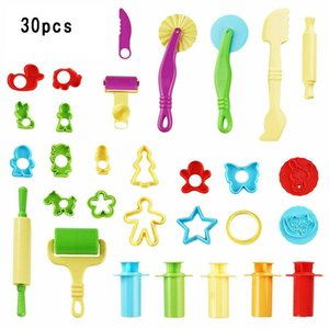 30pcs Play Dough Kids Tools Set Modelling Craft Play Dough Mould Mold Toy