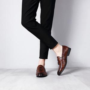 Men Dress Shoe Quality Men Formal Shoes Lace-up Men Business Oxford Shoes Brand Wedding Pointy Shoes