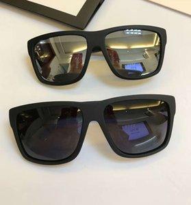 Mens 1124s gafas de sol polarizadas 1124 Mate Negro Gris Sonnenbrille cuadrados Gafas de sol Gafas de verano al aire libre con la caja