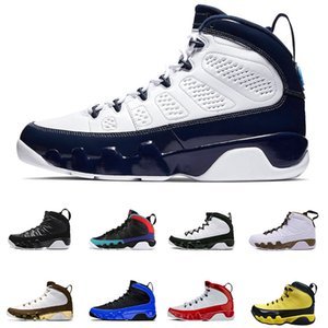 Air Jordan Retro 9 9S Dream It Do It Université Blanc Concord Bleu Rouge Chaussures de basket-9s UNC Bred sport Chaussures de sport Hot Sale US 7-13