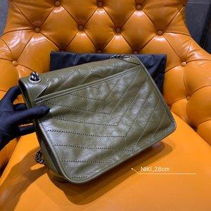 Son moda lüks çanta bayanlar omuz çantası Messenger çanta en kaliteli zanaat gerçek orijinal tek sığır deri malzeme ücretsiz gemi