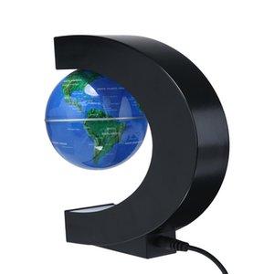 Levitação magnética eletrônica flutuante Decoração de Natal Presente de aniversário Luz Globe Antigravity Magia / Novel de Santa Home Decor outros Início D