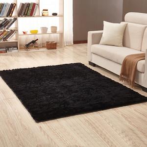 Living Room Carpet Stylish Beige Solid Color Soft and Comfortable Bedroom Carpet soft 60 cm * 160 cm Customizable black red
