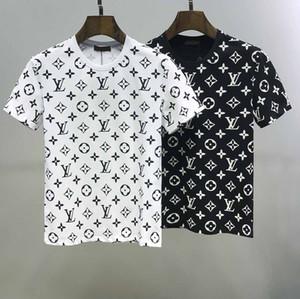 2020-Sommer-T-Shirt italienische High-End-Männer und Frauen T-Shirt Buchstaben gedruckt Kurzarm-Marke Art und Weise T-Shirt M-3XL