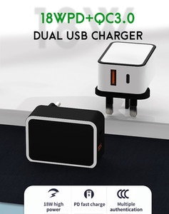 Best quality mobile phone fast charger adapter,18w fast charging pd charger usb-c power adapter for mobile phones