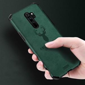 Für Xiaomi Redmi Anmerkung 8 9 5 6 7 K20 K30 Profall Luxury Leather Deer Logo für Mi 9 10 Pro Soft-Silikon-Anti Fall-Abdeckung