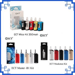 Original ECT Mico Musketeer Host Master Kit Variable Voltage 510 Thread Battery Thick Oil Box Mod Cartridge Vaporizer Vape Kit