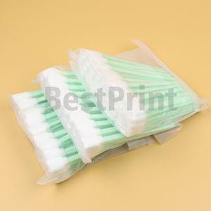 50 adet paketi Epson Roland Mutoh Mimaki için baskı kafası temizleme sünger sopa geniş format mürekkep püskürtmeli yazıcı