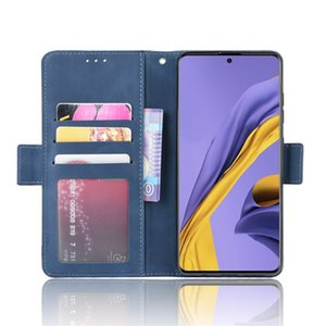 Para Samsung S20 S20 Plus Ultra teléfono celular del caso del tirón de la ranura cubierta protectora Shell con la tarjeta para Huawei mate 30 Pro para iPhone