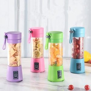 380ml Personal Blender Portable Mini Blender USB Juicer Cups Electric Juicer Bottle Fruit Vegetable Tools EEA284