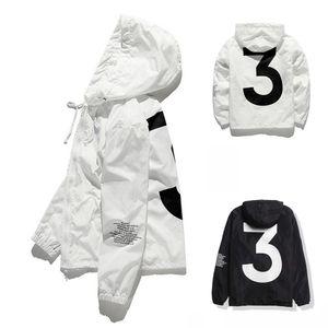 Top venta alta calidad para hombre KANYE WEST chaqueta Hip Hop cazadora chaquetas de diseñador de moda hombres mujeres Streetwear prendas de abrigo abrigo