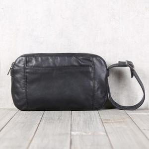 Дизайнер-BJYL мужская кожа ручной работы кожаные сумки одно плечо косой крест ручной переноски Baotou слой воловьей кожи повседневная сумка