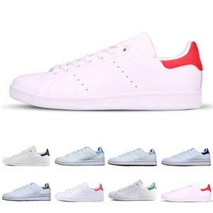 Adidas stan smith shoes Klassische Smith Freizeitschuhe Raf Simons Stan Smiths Frühling Kupfer Weiß Rosa Schwarz Mode Männer Leder Marke Frauen Schuhe Wohnungen Turnschuhe