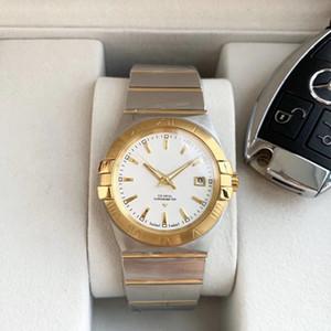 2020 горячие роскошные мужские часы constellation series 39 мм автоматический механический механизм 316L тонкий стальной ремешок минеральное стекло зеркало