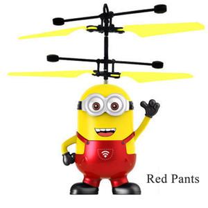 Çocuklar için top Aircraft Led Yanıp sönen Işık Up Oyuncak İndüksiyon Elektrikli sensörünü Uçan RC helikopter drone çocuk oyuncakları