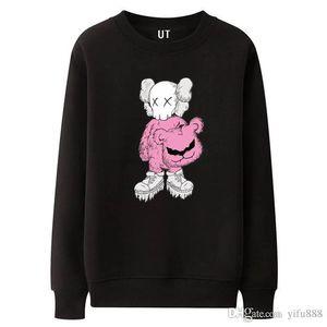 19ss moda roupas de marca dão mens hoodies europa designer de dupla animal print Europa moletom com capuz