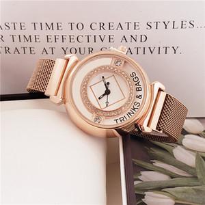 38 millimetri Uomini Rosa Strap Gold Watch Lega Lunetta cinturino da polso nero / quadrante bianco quarzo da polso caldo di vendita