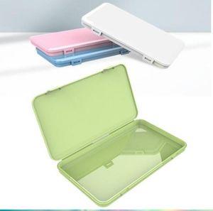 Masques jetables Boîtes de rangement cache-poussière Masque Masque Container Portable Boîte de rangement Visage d'emballage Boîte de rangement Organisateur Bins DHF6