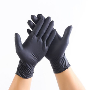 100pcs / пакет одноразовые латексные перчатки Технические характеристики Дополнительное противоскольжения Анти-кислотные перчатки марки Б Резиновые перчатки Очистка перчатки