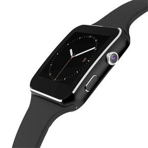 X6 reloj elegante reloj impermeable mensaje Call pulsera Recordatorio de teléfono con ranura para tarjeta SIM TF para el teléfono Android SmartWatch