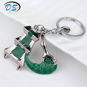 Hot Game LoL Prevalent Europe and America Legendary Alliance Key Link Trendy Accessoires for Man Keychain