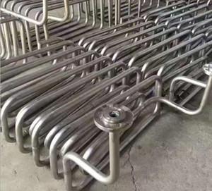 Alta qualidade de Melhor Qualidade de aço inoxidável bobina de cerveja, tubo de bobina de tubo de tubo de aço inoxidável de Refrigeração Quente Titanium trocador de aquecimento da bobina