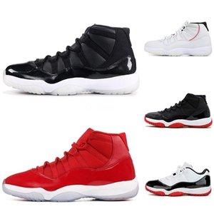 2020 горячая распродажа 11 мужская баскетбольная обувь Og Jumpman Sneaker хорошее качество Мандарин утка тренеры мужские 11S спортивные кроссовки #326
