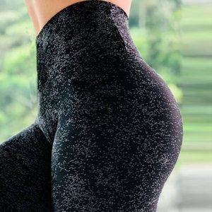 NEW Colorvalue Yoga leggings Hip Up Skinny Elastic Yoga Pants Floral Slim Stretch Pencil Pants Running Sportswear Women Pants Y200529