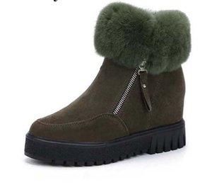 Neue Stiefel Fashion Leder Stern Frauenschuhe Frau Leder kurz Herbst Winter Knöchel Mode Frauen Stiefel k15
