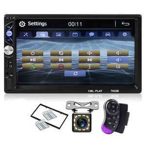 2Din Car Radio 7 inch Press Mirrorlink Auto Audio Player For Subwoofer Mp5 Player Autoradio Bluetooth Rear View Camera Tape Reco