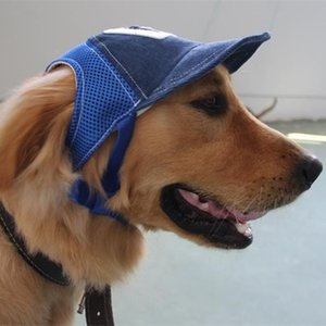 Fontes bonito Dog Pet Hat Baseball Cap Teddy Cachorrinho Cowboy Traje Grooming Acessórios lazer Viagens Pára-sol Protetor solar Pet