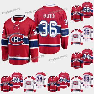 2019 Draft Montreal Canadiens Jersey 35 Cole Cole Cufield 59 Gianni FairBrother 74 Jayden StruBle 6 Shea Weber 31 Carey Preço Hóquei Jerseys
