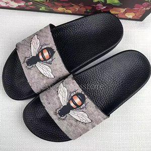 Hommes Femmes Sandales Chaussures confort Blooms Tiger Abeilles Serpent Diapo Été Mode plat épais Sandales Flip Flop Slipper Chaussons