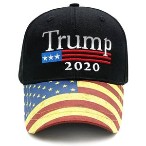Embroidery Trump Baseball Caps 2020 Make America Great Again Donald Trump Baseball Hats Adjustable Adults Sports Snapback Cap DBC BH3858