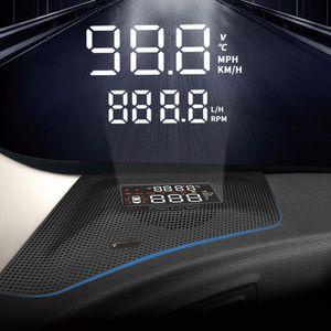HUD Auto Car Head Up Schermo del parabrezza del proiettore di allarme di sicurezza RPM di velocità eccessiva per Subaru Forester XV Outback 2013-2020