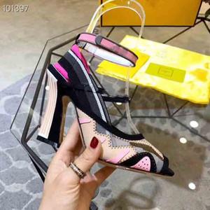 2019 New! Супер распродажа женские сандалии на высоком каблуке, дизайнерские женские модные сандалии, звездные сандалии высочайшего качества