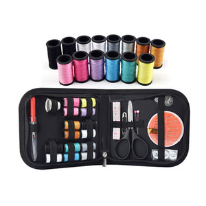 США со списком бытовых швейных инструментов Наборы Большой размер Многоцелевой Портативный иглы Box Set Шитье Kot иголок с 14 Рулоны