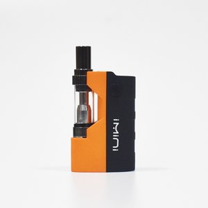 Original Imini Thick Oil Cartridges Vaporizer Kit 500mAh Box Mod Battery 510 Thread New Liberty V1 Tank Atomizer Vape Pen Starter kits