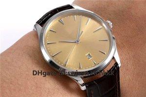 ZF New Q1288420 relojes de diseño para hombre Swiss 899 Automatic Ultra Thin Sapphire Crystal Caja de acero inoxidable correa de piel de becerro Reloj para hombre