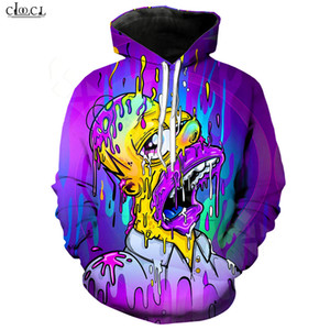 2020 New Style Anime The Simpsons Hoodie Men Women Homer J. Simpson Hooded Pullovers 3D Printed Cartoon Casual Couples Coat