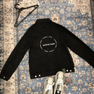 DR design di lusso Giacca di jeans donne degli uomini rivestimento del denim del cappotto del progettista di marca tuta sportiva di modo Windbreaker Streetwear di lusso Giacche 20042410L
