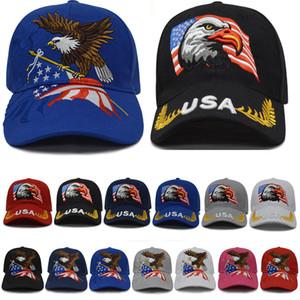 2 Art Kreative Baseballmütze 2020 Trump Cap Amerikanische Flagge Stickerei Sunscreen Mode Shade Cap XD23518