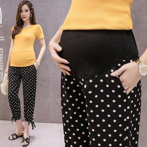Estate Nuove maternità pantaloni stile Knickerbockers moda comoda coreano donne incinte Capri-Pants