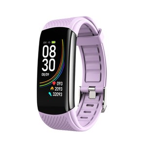 6color C6T Smartwatch Fitness Tracker Sport Armband Herzfrequenz Blutdruck Smart Monitor Gesundheit Armband Thermometer