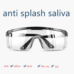 Safety Goggles Protective Glasses Anti-splashing Anti-fog Glasses Telescopic Frame Reinforced Film Protective EyeWear
