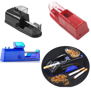 Cigarro elétrico automático Rolling Machine Tobacco Injector Criador rolo Fumar Papeles de tubo de filtro do cigarro Máquina EU Plug