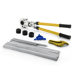 Pipe hand presser Tool Set TH Pressing Pliers Bending Calibrator And Pipe Shears For Compound Pipe