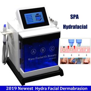 2021 Новое гидрофабрикальное оборудование Hydro Microdermabrasion Bio Face Lift Exfliade Scee Улучшение кожи Тон Удалить смазку Гидра