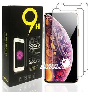 아이폰 (12) 미니 (11) 프로 맥스 X XR XS 최대 LG STYLO 삼성 A30 A40 A50 A60 A70 A80 강화 유리 2020 최신 명확한 화면 보호기