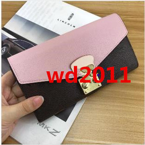 Wallet Long Card Man Date Box Real Leather Zipper Classic Quality Women With Top Holder Code Multicolor Pocket Jxcbw Victorine Bellb